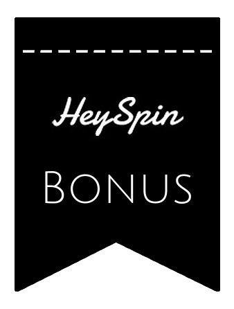 Latest bonus spins from HeySpin