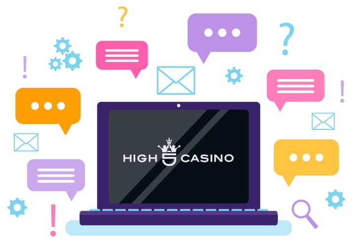 High 5 Casino - Support