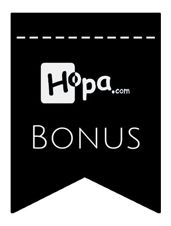 Latest bonus spins from Hopa Casino