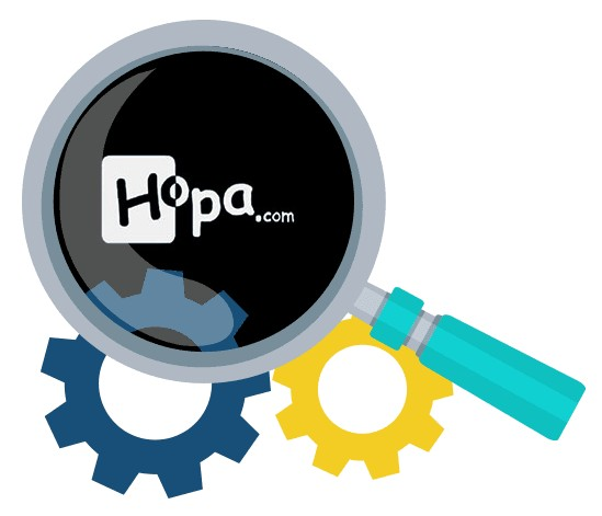 Hopa Casino - Software