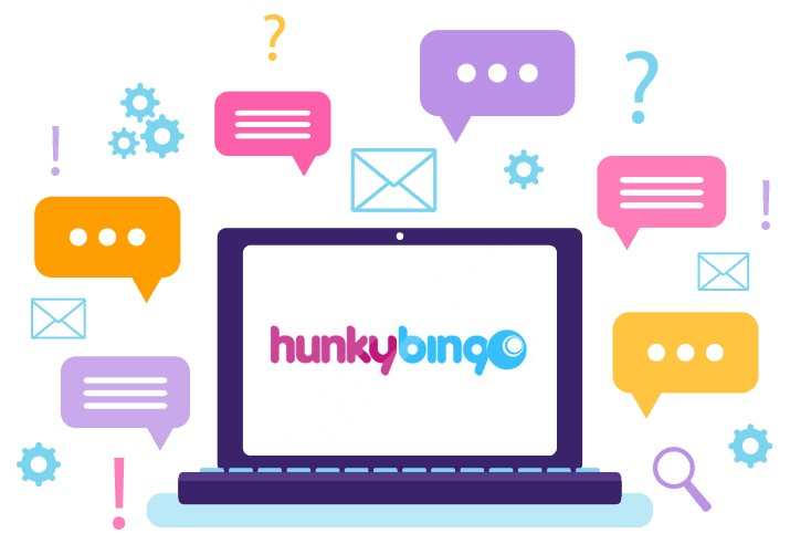 Hunky Bingo Casino - Support