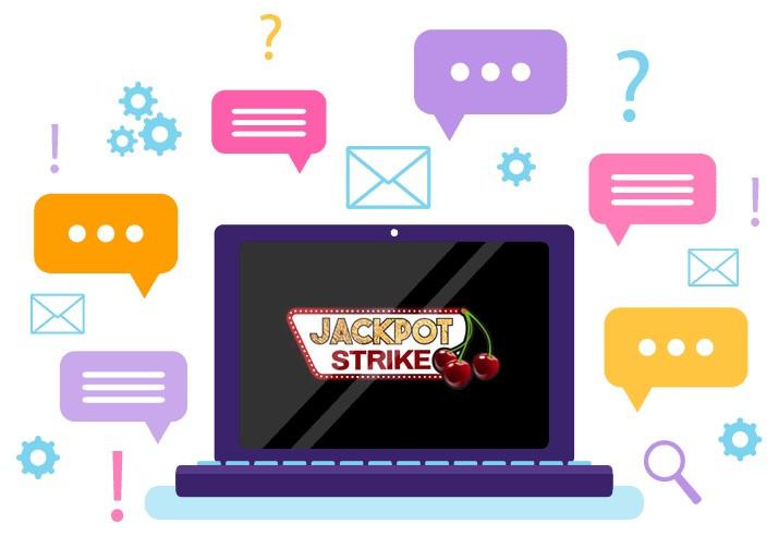 Jackpot Strike Casino - Support