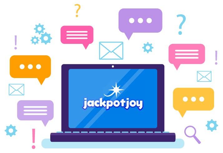 Jackpotjoy Casino - Support
