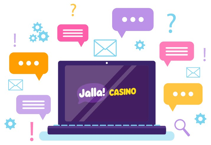 Jalla Casino - Support