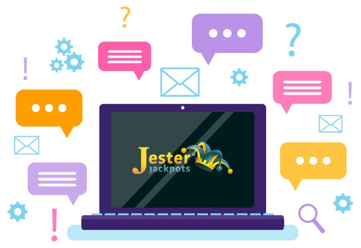 Jester Jackpots Casino - Support