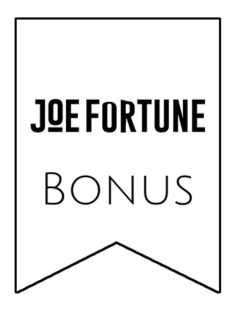 Latest bonus spins from Joe Fortune