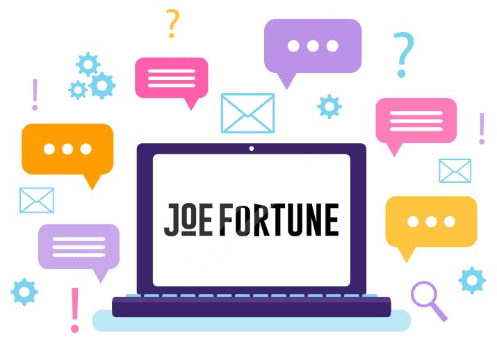 Joe Fortune - Support