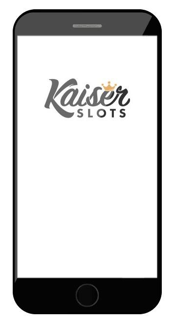 Kaiser Slots Casino - Mobile friendly