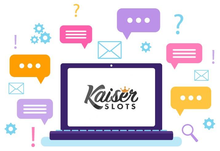 Kaiser Slots Casino - Support