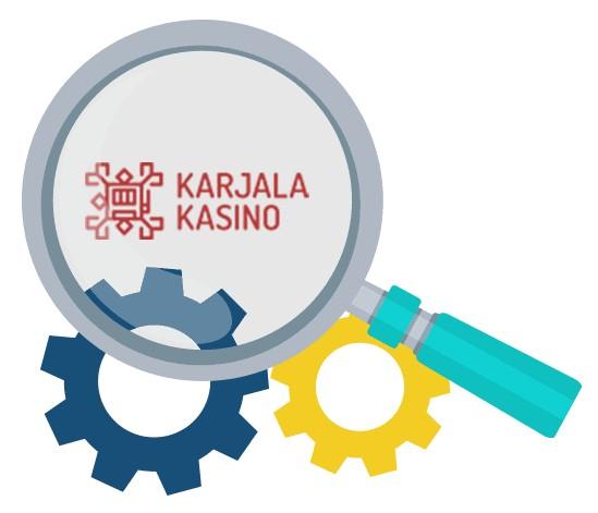 Karjala Kasino - Software