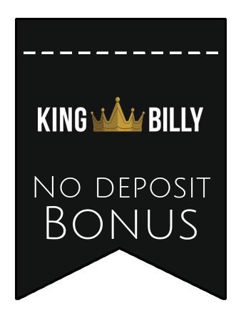 King Billy Casino - no deposit bonus CR