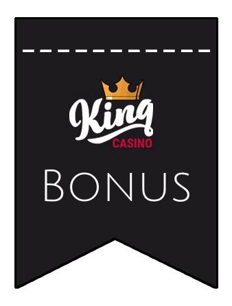 Latest bonus spins from King Casino