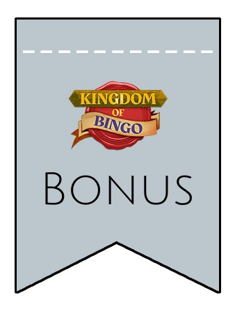 Latest bonus spins from Kingdom of Bingo