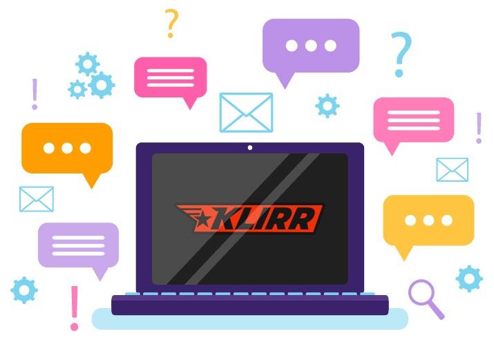 Klirr - Support