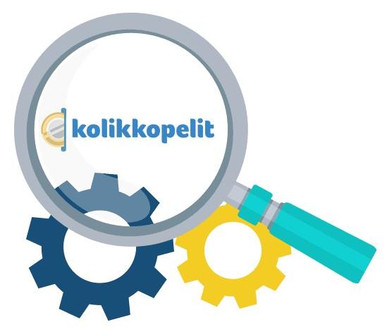 Kolikkopelit - Software