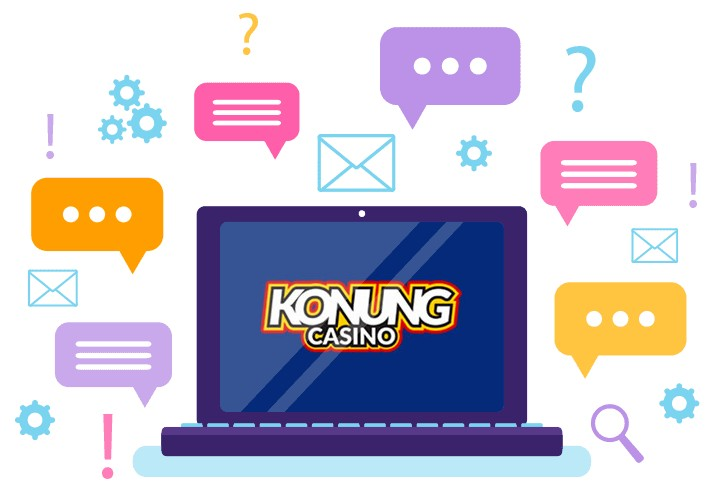 Konung Casino - Support