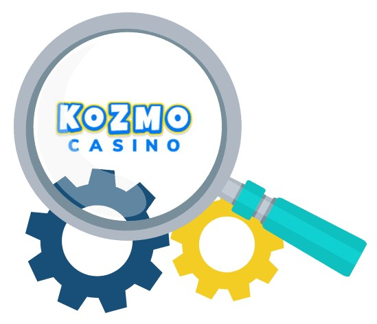 Kozmo Casino - Software