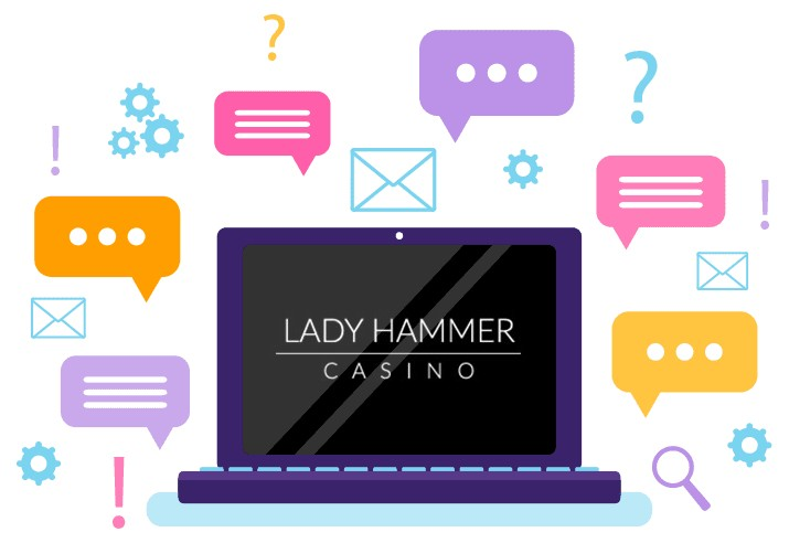LadyHammer Casino - Support