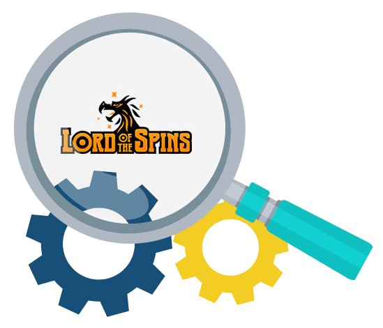 Lord of the Spins Casino - Software