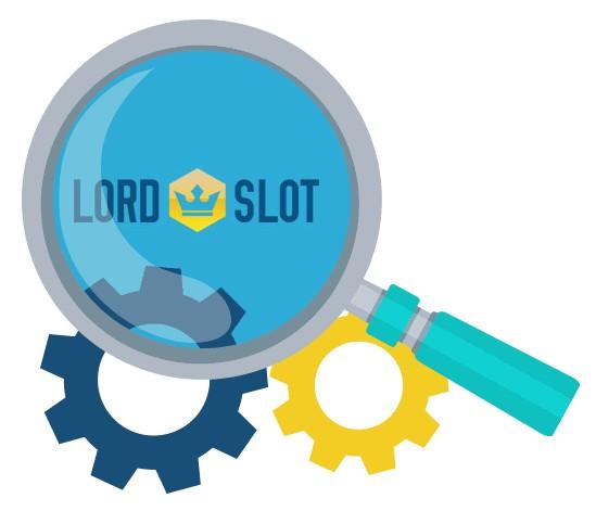 Lord Slot Casino - Software