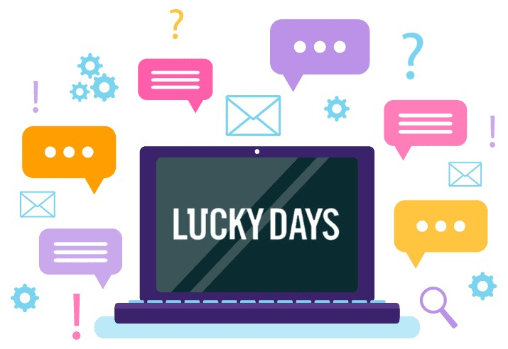 Lucky Days Casino - Support