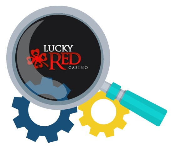 LuckyRed Casino - Software