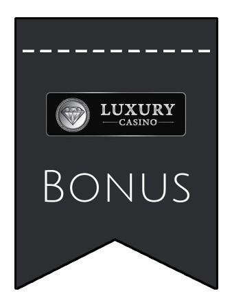 Latest bonus spins from Luxury Casino