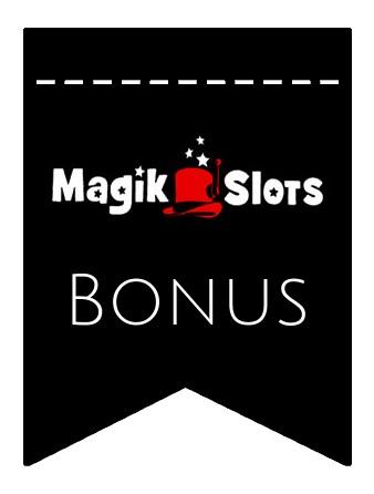 Latest bonus spins from Magik Slots Casino