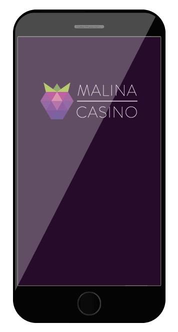 Malina Casino - Mobile friendly