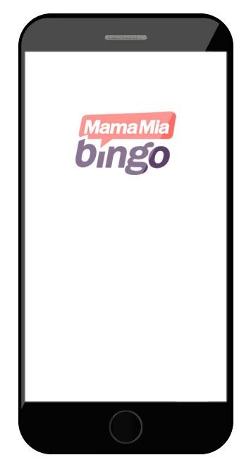 MamaMia Bingo Casino - Mobile friendly