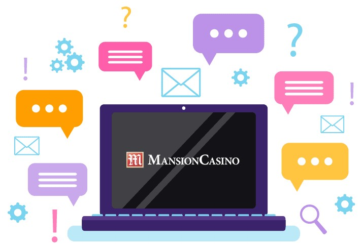 Mansion Casino - Support
