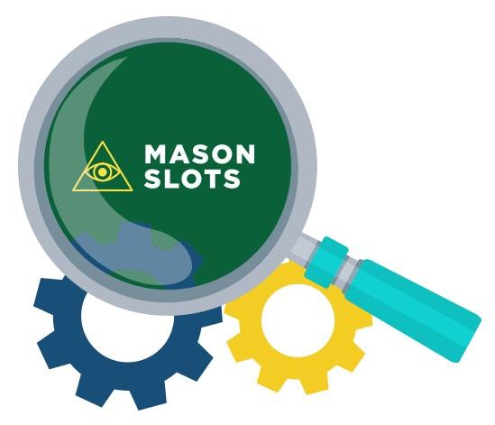 Mason Slots - Software