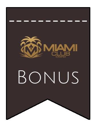 Latest bonus spins from Miami Club Casino