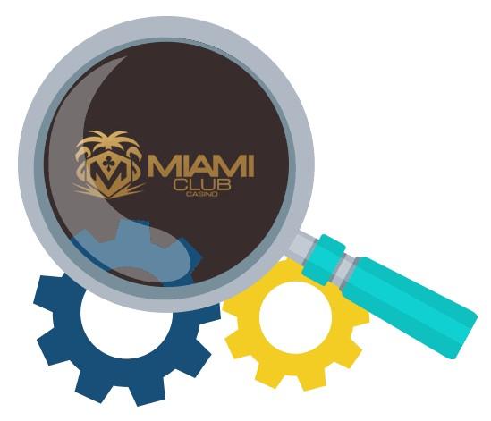 Miami Club Casino - Software