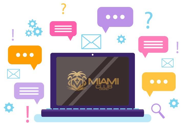 Miami Club Casino - Support