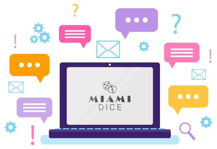 Miami Dice Casino - Support