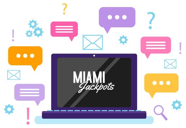 Miami Jackpots - Support