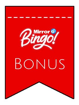 Latest bonus spins from Mirror Bingo
