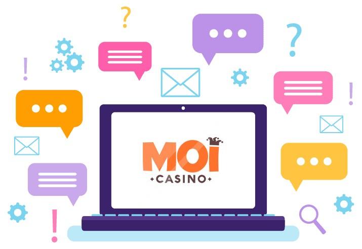 Moi Casino - Support