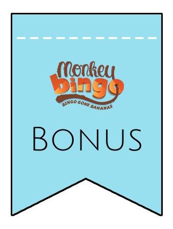 Latest bonus spins from Monkey Bingo