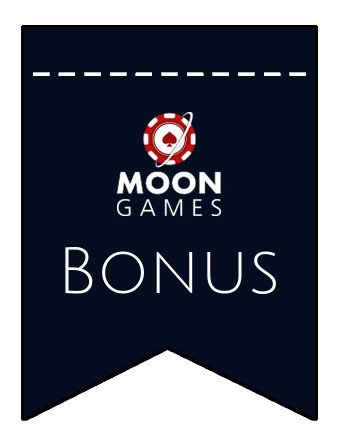 Latest bonus spins from Moon Games