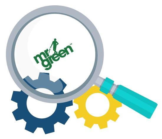 Mr Green Casino - Software