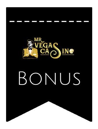 Latest bonus spins from MrVegas