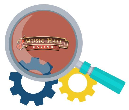 Music Hall Casino - Software