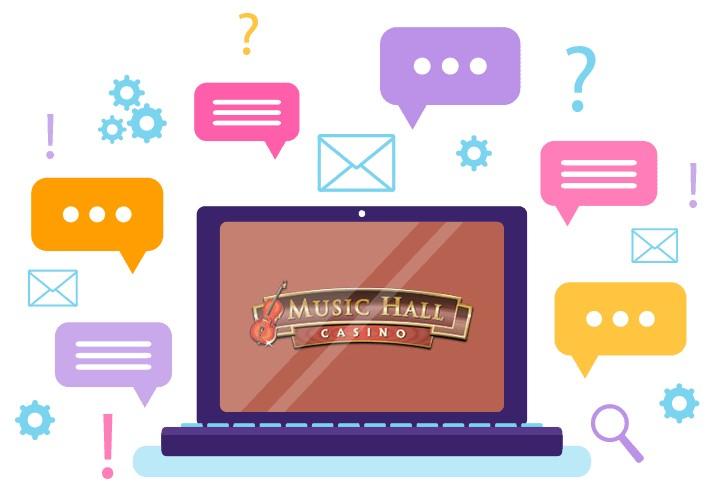 Music Hall Casino - Support