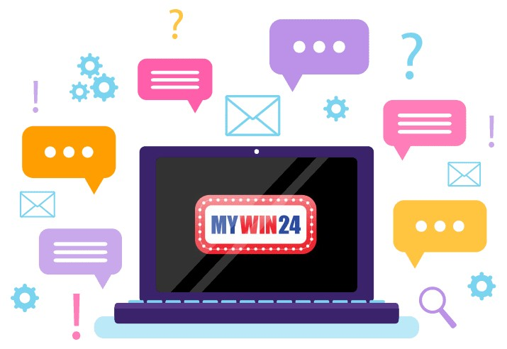 MyWin24 Casino - Support