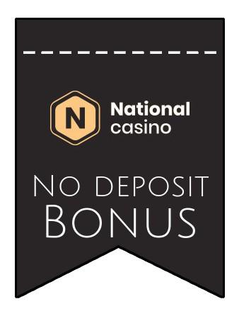 National Casino - no deposit bonus CR