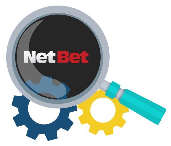 NetBet Casino - Software