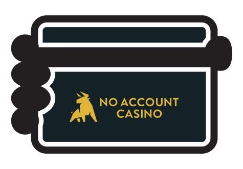 No Account Casino - Banking casino