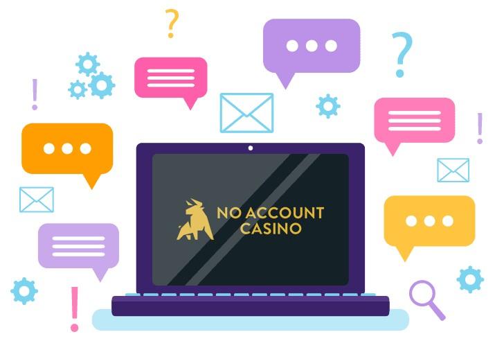 No Account Casino - Support